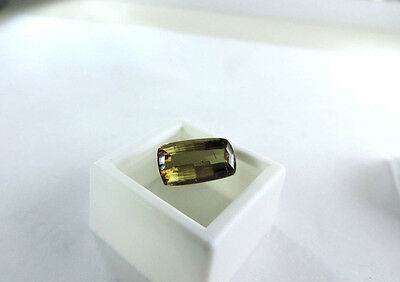 5.85ct Color Changing Andalusite from NORTH SLOPE ALASKA Cut by Me :) Super Rare