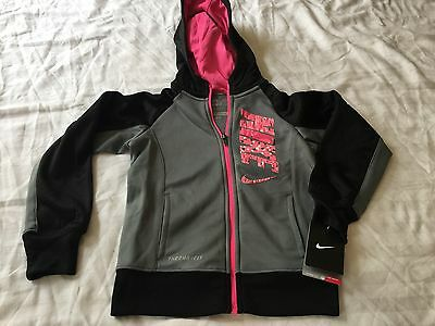 Nike Therma Fit Full Zip Hooded Jacket Youth Girls 6x