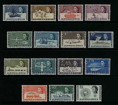 B.A.T / BAT / British Antarctic Territory Stamps - 1963 set of 15 (1 - 15) MNH