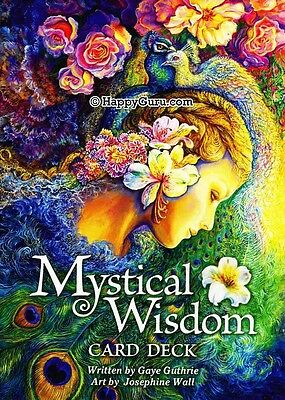 """mystical Wisdom Card Deck"" By Gaye Guthrie (Oracle Cards)"