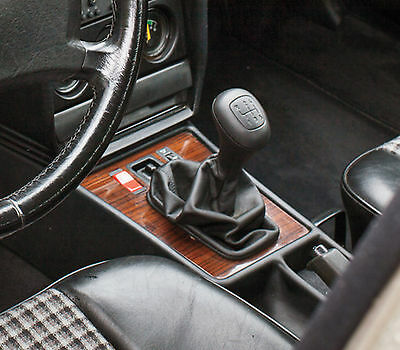 Leather Gear Shift Gaiter Cover Sleeve fit Mercedes W201, 190, 180 1982-1993