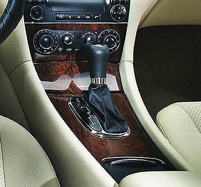Leather Gear Shift Gaiter Cover Sleeve fit Mercedes Class C W203 AUTOMATIC