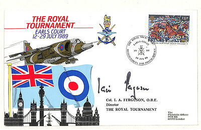 W267 1989 The Royal Tournament Cover London Samwells-covers