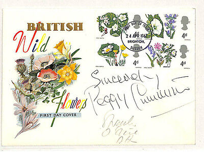 W265 1967 British Wild Flowers FDC Sussex Samwells-covers