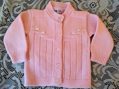 Vintage Pink Baby doll Sweater by Blue Bird never worn -