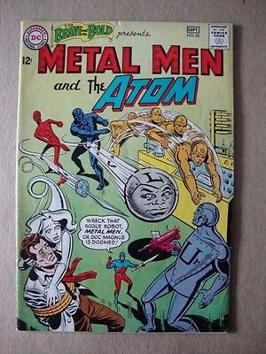 Brave and the Bold #55 (DC Comics) Metal Men and the Atom ~ Mid Grade VG