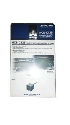 Alpine HCE-C125 Rear-View / Reverse Back-Up Camera SHIPS FAST! Brand New HCEC125
