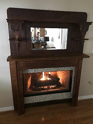 1800's Fireplace Mantel and Surround