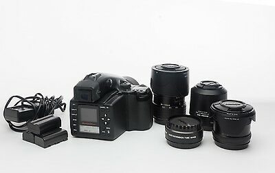 Mamiya AFD with 4 lens kit and 22 mp ZD digital Back