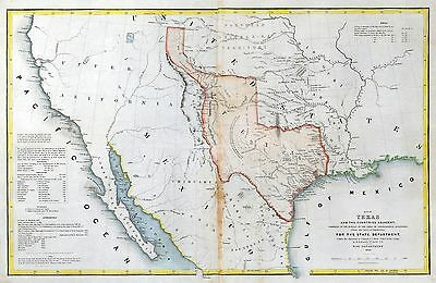 TEXAS state 265 maps PANORAMIC genealogy old HISTORY teaching REPUBLIC atlas DVD