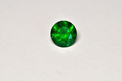1.45ct - 7mm - Dark Green Tsavorite Garnet