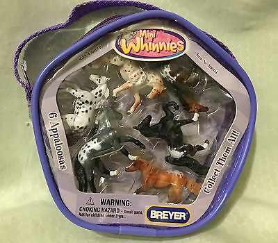 Brand New Breyer Package Of Mini Whinnies Appaloosas Horse Collection