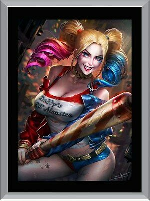 Harley Quinn Art A1 To A4 Size Poster Prints