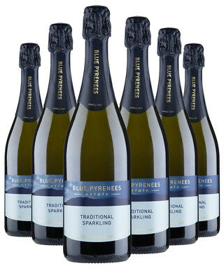Blue Pyrenees Traditional Sparkling Brut NV x 6 750ml