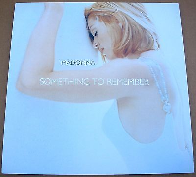 MADONNA Something To Remember 1 Sided Promo 12x12 Poster Flat 1995 Mint-