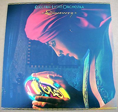 ELECTRIC LIGHT ORCHESTRA ELO Discovery 1 Sided Promo 12x12 Poster Flat 1979 M-