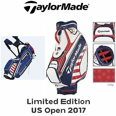 TaylorMade Limited Edition US Open 2017 Golf Staff Tour Bag / Stand Bag