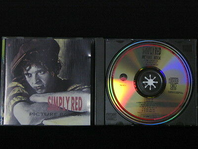 Simply Red. Picture Book. Compact Disc. 1985. Made In Germany.