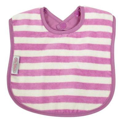 Silly Billyz Organic Bandana Striped Bib - Plum Free Shipping!