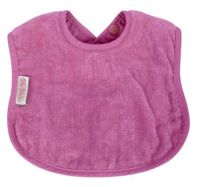Silly Billyz Organic Plain Bib - Plum Free Shipping!