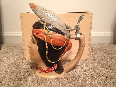 Leinenkugel's Domex Indian Maiden Character  Stein Limited Edition /2000 Rare