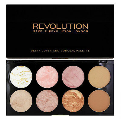Makeup Revolution Palette Golden Sugar Blush Bronze & Highlighter
