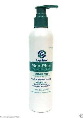 Men-Phor Anti-Itch Lotion 7.5 oz Pump (Compare to Sarna)