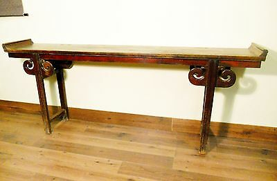 Antique Chinese Ming Altar Table (5490), Circa 1800-1849