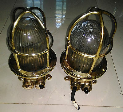 Nautical marine vintage passage lights Set of 2 pieces