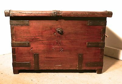 A 18th Century Naval Officers Sea Chest