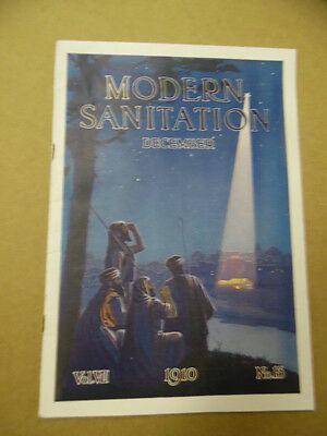 1910 MODERN SANITATION Standard Sanitary Mfg Co. Plumbing Bath Magazine Catalog