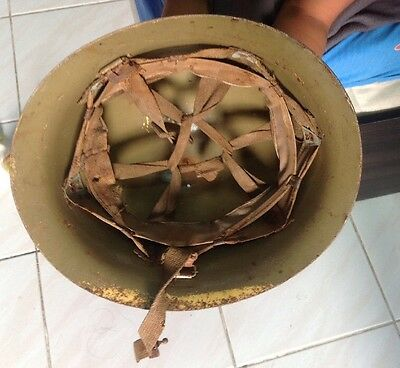 Original WW 2 Japanese Army Nice Imperial Helmet - Bargain