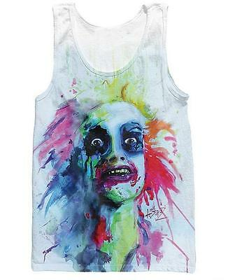 New Fashion Killer Beetlejuice Tank Top 3D Print Basketball Vest Women Men Tops