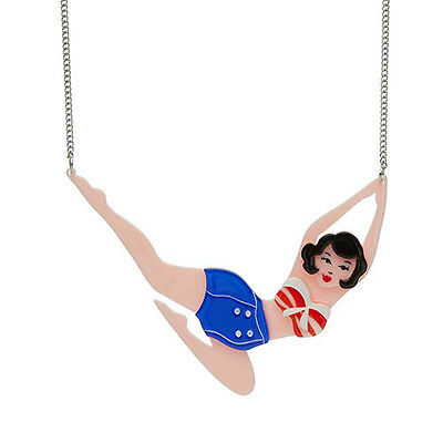 Authentic Ltd Ed Erstwilder Necklace - Synchronised Sabrina. New In Gift Box.