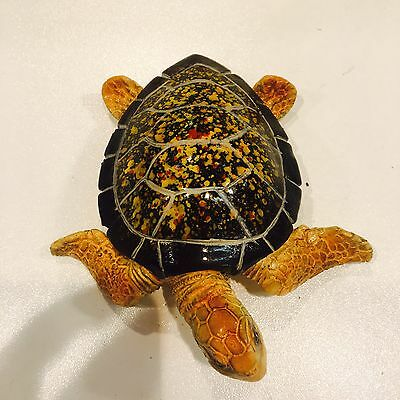 statue Sculpture resin hand carving decorative modern decor turtle display