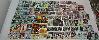 90+ Vintage Mixed Star Wars Trading Cards 1977 20th Century Fox 1980 Burger King