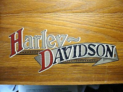 Harley-Davidson Collectible Solid Wood Tool Box, or Curio Collectibles Storage,