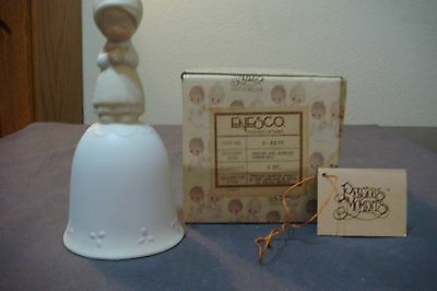 NEW 1980 PRAYER CHANGES THINGS Precious Moments Bell #E-5210 IN BOX