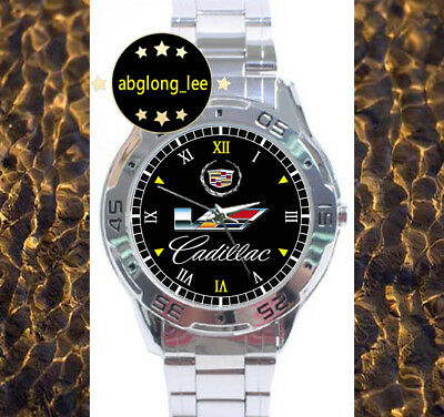 NEW Cadillac CTS-V Muscle Cars CUSTOM CHROME MEN'S MENS WATCH WRIST WATCHES