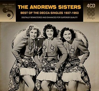 The Andrews Sisters - Best Of The Decca Singles [New CD] Germany - Import