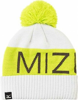 Mizuno Bobble Hat Wintermütze Blau/Lime