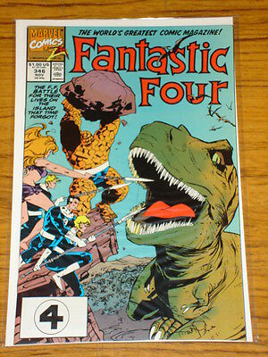 Fantastic Four #346 Vol1 Marvel Comics Scarce November 1990