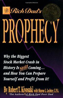 Rich Dad's Prophecy by Kiyosaki, Robert T. Paperback Book The Cheap Fast Free
