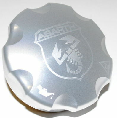 Fiat Punto 500 Abarth Aluminium Oil Cap New Genuine 5743869