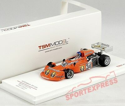 NEW 1/43 TSM tsm124330 March 761, Germany GP, Hans-Joachim Stuck, #34
