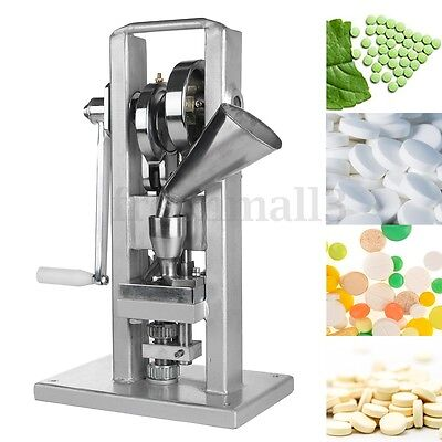 Handle Manual Single Punch Tablet TDP-0 Press Pill Pellet Making Machine Maker