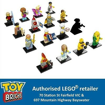 LEGO Series 17 Minifigures Complete set of 16