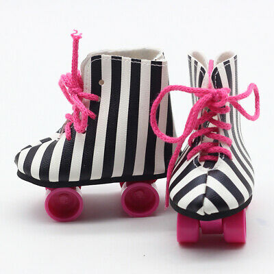1 Pair Roller Skates Shoes for 18'' American Girl Journey Doll Clothing ACCS