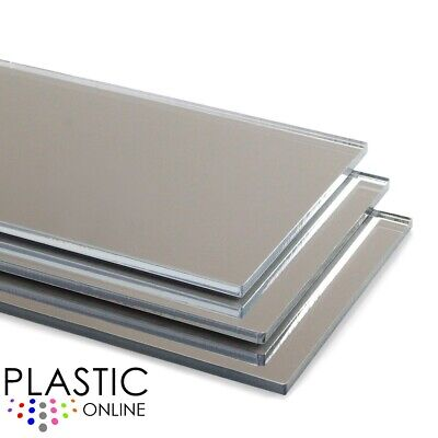 Silver Acrylic Mirror Sheet Plaskolite Perspex Plastic Safety Mirror Child Safe