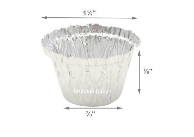 Dyn-A-Med Aluminum half ounce Lab Cup- #00000- Disposable lab supplies